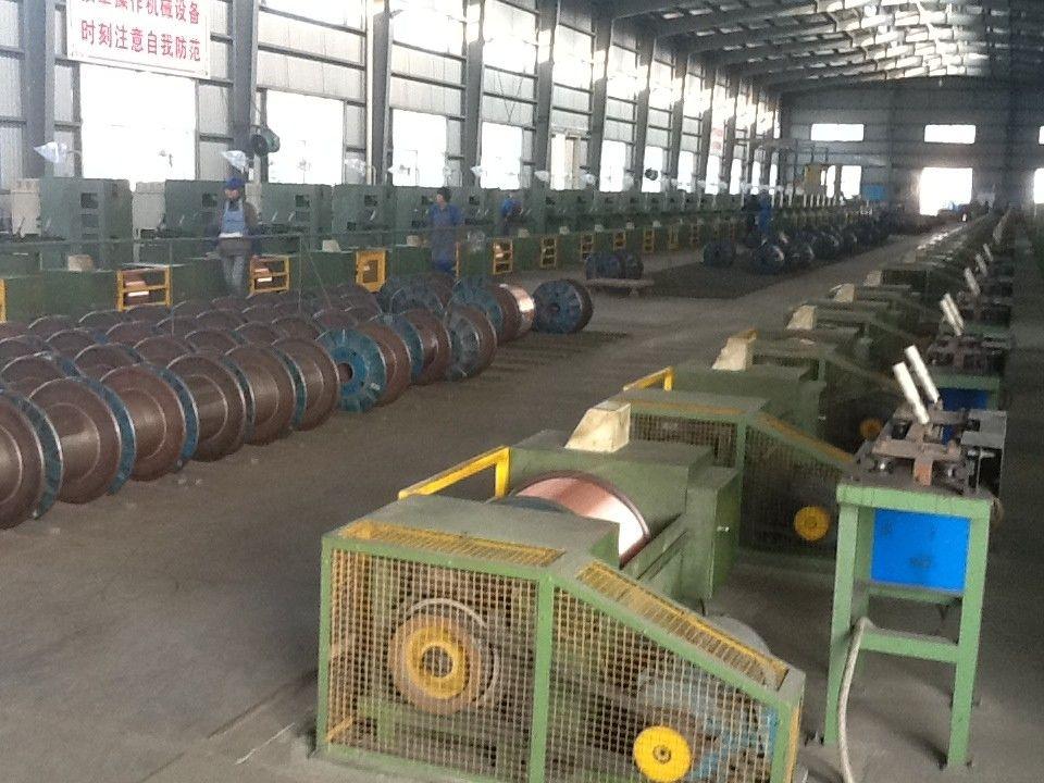 Flux Cored Welding Wire Machine Automatic Production Line PLC Control